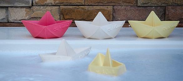 Beissfigur Origami Boot