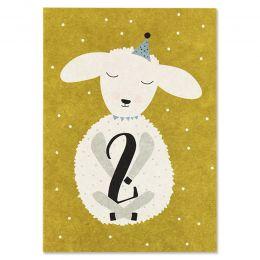 Postkarte Lamm