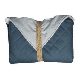 Wickeltasche mit integrierter Unterlage Blautanne