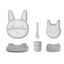 Jules Junior Bambus Set Dumbo Grau