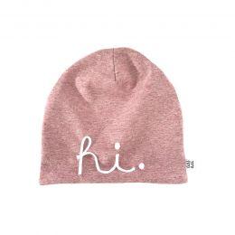 Beanie HI Pink Newborn